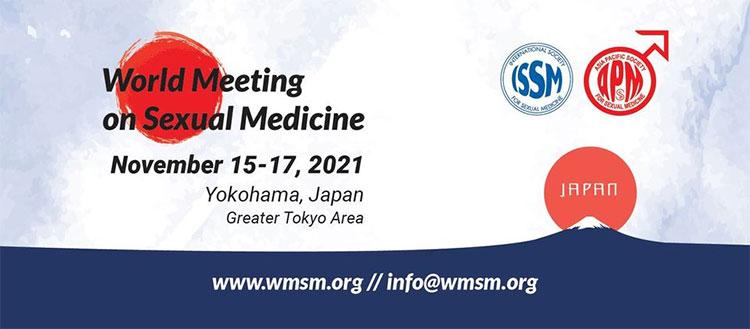 2021 World Meeting on Sexual Medicine. Yokohama, Japan. November 15 - 17, 2021.